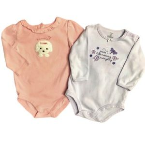 Gymboree Carter's Long Sleeve One Piece Bodysuits